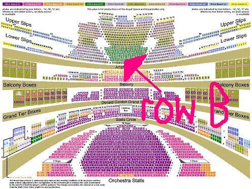 Opera house layout manchester
