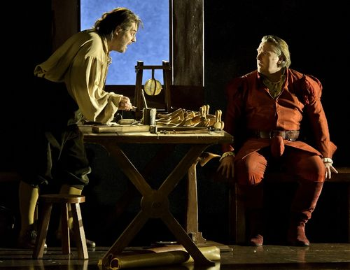 MEISTERSINGER 111216_0419 KOCH AS HANS SACHS, O'NEILL AS WALTHER (C) BARDA (800x618)