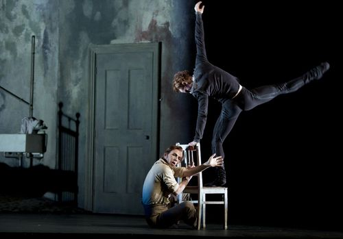 Johan Kobborg as Walter Sickert, Steven McRae as Jack in Liam Scarlett's Sweet Violets. Photo Bill Cooper, courtesy of ROH (800x558)